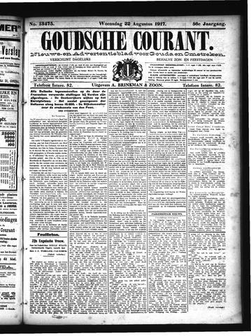Goudsche Courant 1917-08-22