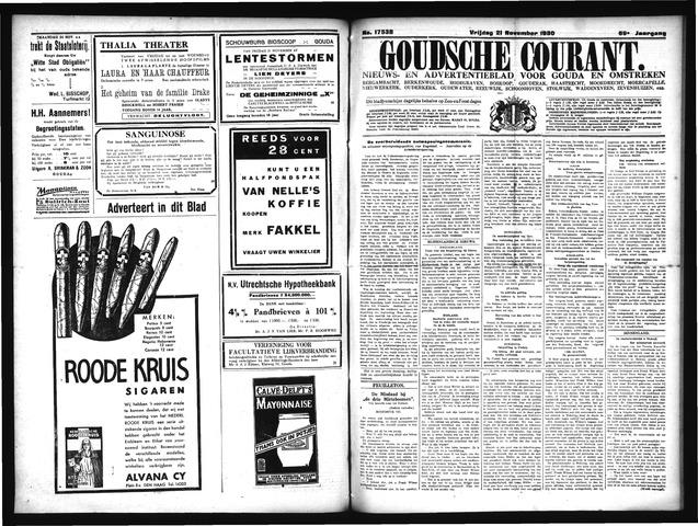 Goudsche Courant 1930-11-21