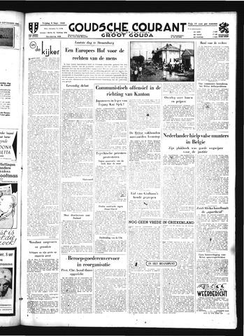 Goudsche Courant 1949-09-09