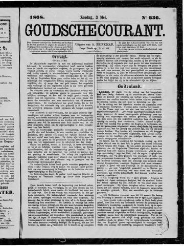 Goudsche Courant 1868-05-03