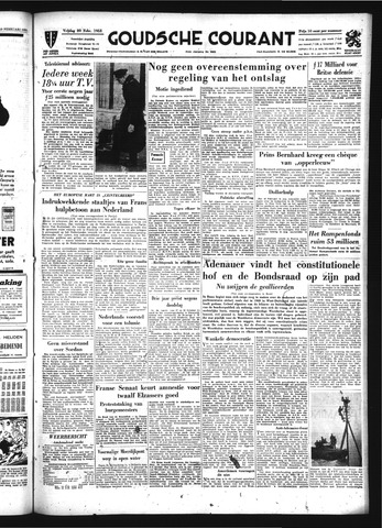 Goudsche Courant 1953-02-20