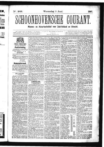 Schoonhovensche Courant 1907-06-05