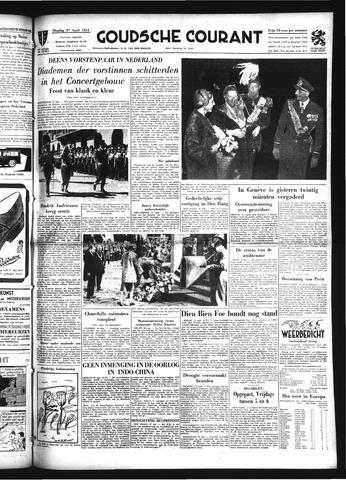 Goudsche Courant 1954-04-27