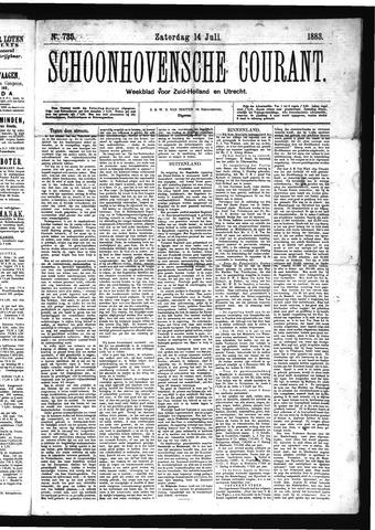 Schoonhovensche Courant 1883-07-14