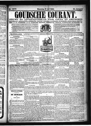Goudsche Courant 1922-07-10