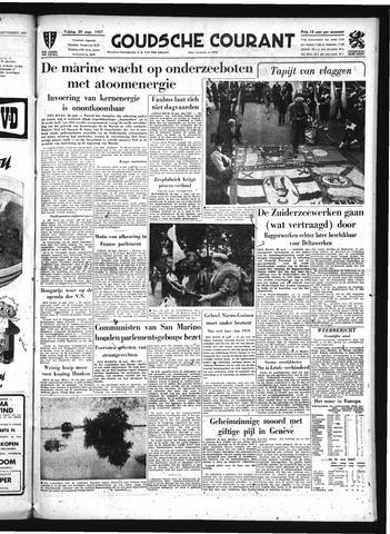 Goudsche Courant 1957-09-20