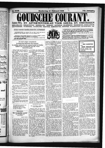 Goudsche Courant 1936-02-27