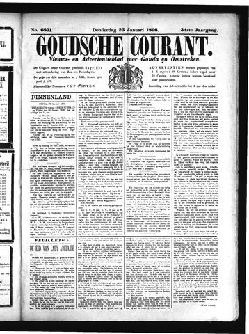 Goudsche Courant 1896-01-23