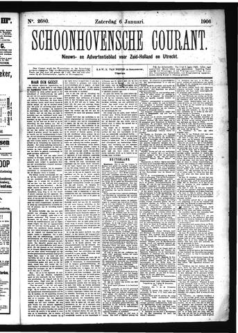 Schoonhovensche Courant 1906-01-06