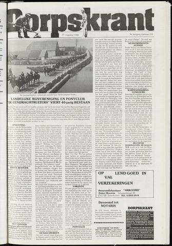 Dorpskrant 1986-08-27