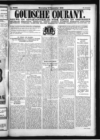 Goudsche Courant 1936-12-16
