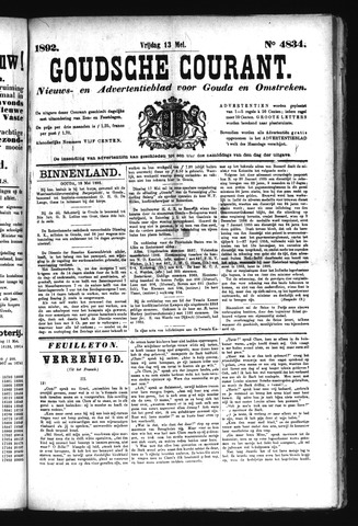 Goudsche Courant 1892-05-13