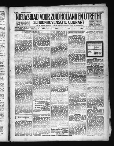 Schoonhovensche Courant 1938-02-11