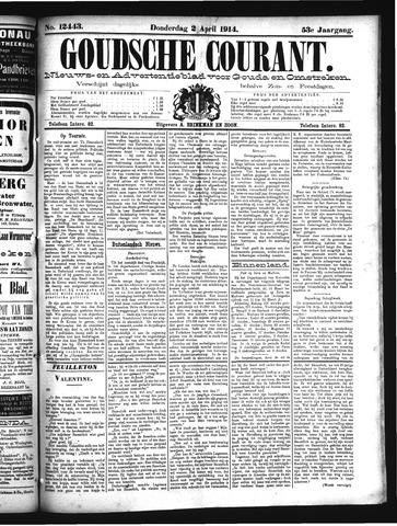 Goudsche Courant 1914-04-02