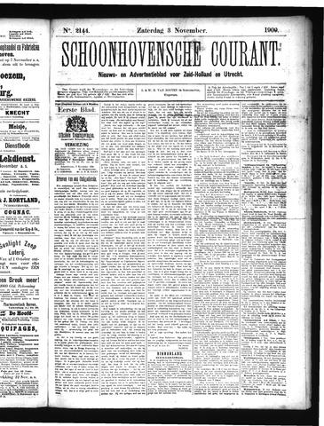 Schoonhovensche Courant 1900-11-03