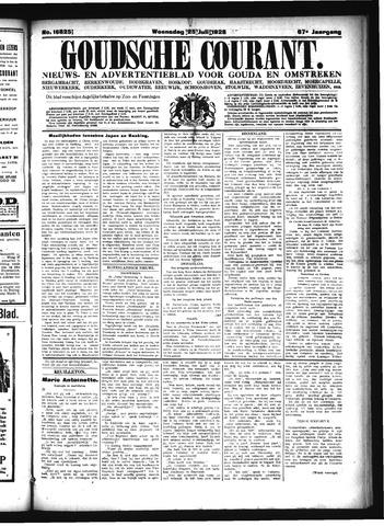 Goudsche Courant 1928-07-25