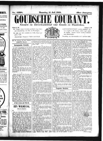 Goudsche Courant 1910-07-11