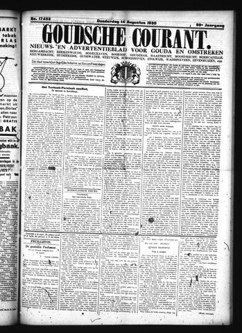 Goudsche Courant 1930-08-14