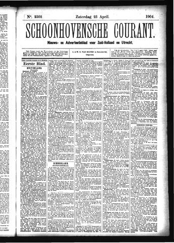 Schoonhovensche Courant 1904-04-23