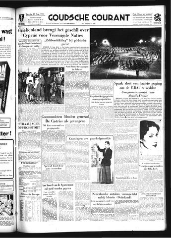 Goudsche Courant 1954-08-21