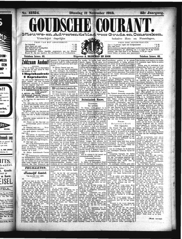 Goudsche Courant 1913-11-11