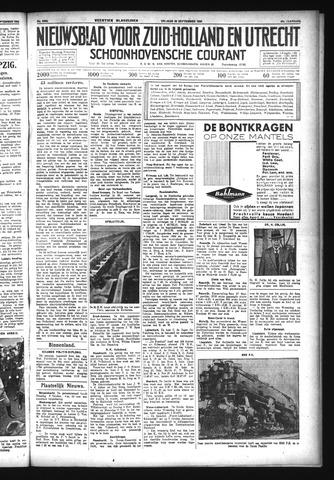 Schoonhovensche Courant 1933-09-29