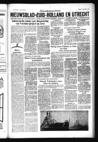 Schoonhovensche Courant 1965-09-24