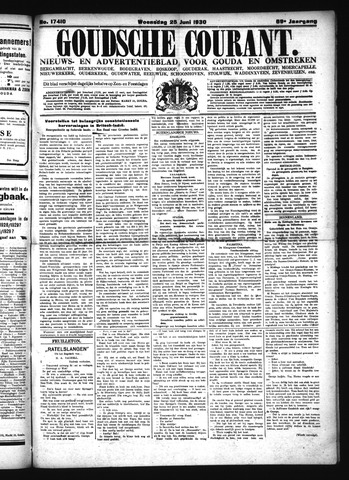 Goudsche Courant 1930-06-25
