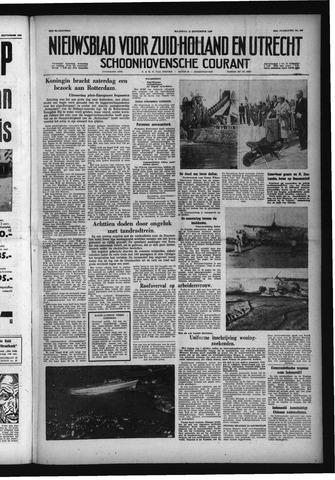 Schoonhovensche Courant 1958-09-15