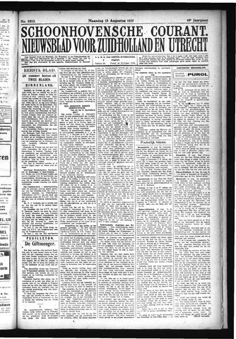 Schoonhovensche Courant 1927-08-15