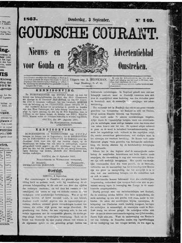 Goudsche Courant 1863-09-03