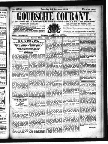 Goudsche Courant 1918-08-24