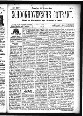 Schoonhovensche Courant 1901-09-28