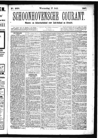 Schoonhovensche Courant 1907-07-17