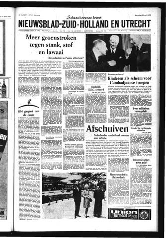 Schoonhovensche Courant 1970-04-22