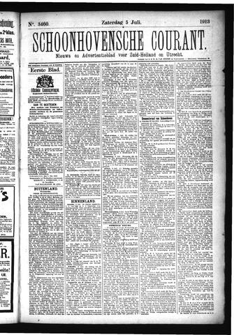 Schoonhovensche Courant 1913-07-05