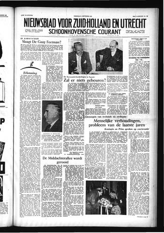 Schoonhovensche Courant 1956-09-05