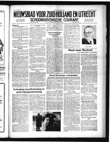 Schoonhovensche Courant 1951-04-16