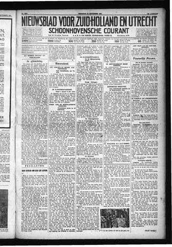 Schoonhovensche Courant 1931-09-23