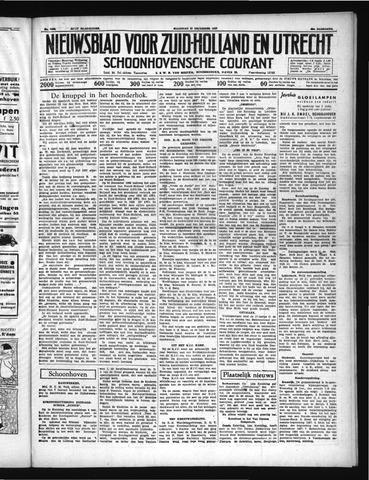 Schoonhovensche Courant 1937-12-27