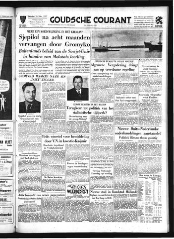 Goudsche Courant 1957-02-16