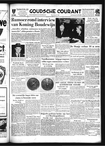 Goudsche Courant 1953-02-25