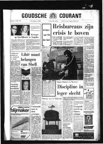 Goudsche Courant 1974-04-01