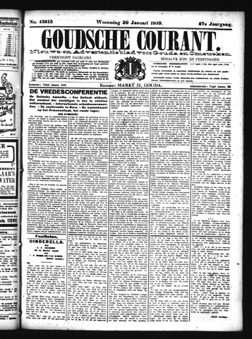 Goudsche Courant 1919-01-29