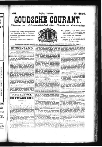 Goudsche Courant 1891-10-02
