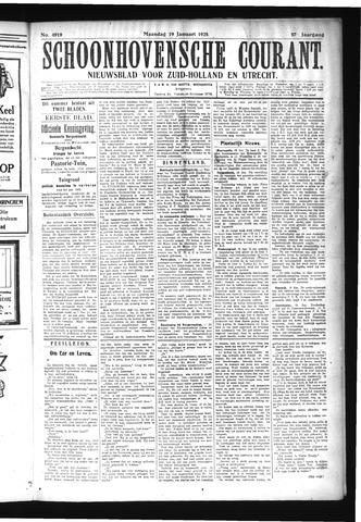 Schoonhovensche Courant 1925-01-19