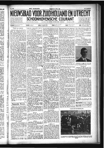 Schoonhovensche Courant 1933-04-10