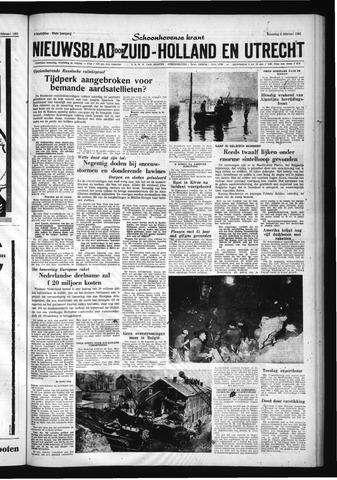 Schoonhovensche Courant 1961-02-06