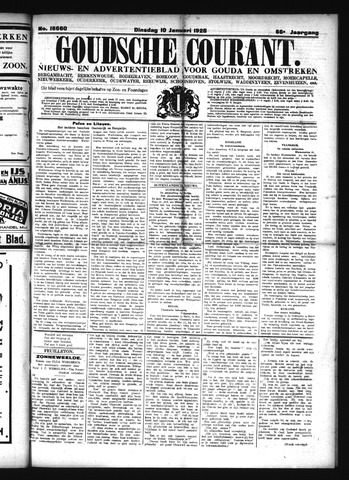 Goudsche Courant 1928-01-10