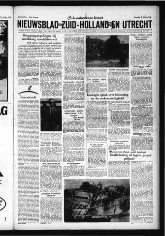 Schoonhovensche Courant 1960-10-12